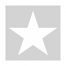 "PAPER NAPKIN ""STAR"", silver"