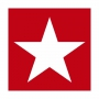 "PAPIER-SERVIETTE ""Star"", rot"