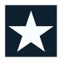 """PAPIER-SERVIETTE """"Star"""", dunkelblau"""
