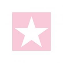 """PAPIER-SERVIETTE """"Star"""", rosa 25x25 cm"""