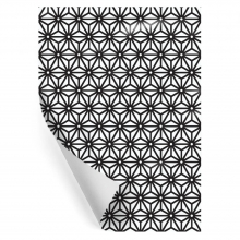 "WRAPPING PAPER ""CALEIDO BLACK"""