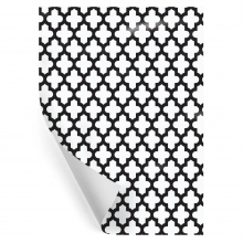 "WRAPPING PAPER ""BLACK CROSS"""