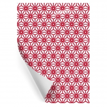 "WRAPPING PAPER ""CALEIDO RED"""