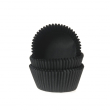 "BAKING CUPS ""BLACK"""