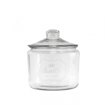"GLASS CANISTER ""SWEETS"" 3L"