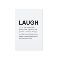 "POSTCARD ""LAUGH"""