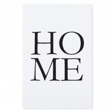 """POSTER """"HOME"""""""