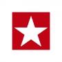 """PAPIER-SERVIETTE """"Star"""", red 25x25 cm"""