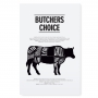 "POSTER ""BUTCHERS CHOICE"""