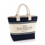 "CANVAS BEACH BAG ""BLUE"""