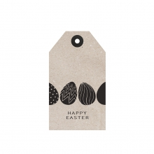 "GIFT TAG ""HAPPY EASTER"""