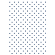 "WRAPPING PAPER ""BLUE FLOWER PATTERN"""