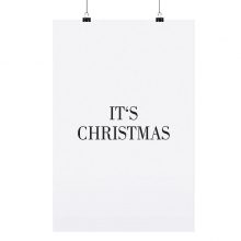 """POSTER """"IT`S CHRISTMAS"""""""