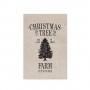 """POSTCARD """"CHRISTMAS TREE"""""""