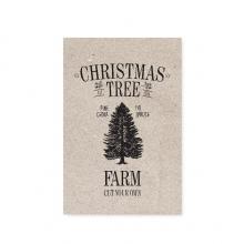 """POSTCARD """"CHRISTMAS TREE FARM"""""""