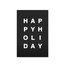 "POSTCARD ""HAPPY HOLIDAY"""
