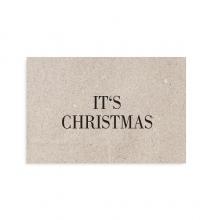 "POSTKARTE ""IT´S CHRISTMAS"""