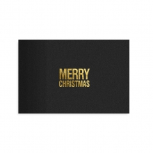 "POSTCARD ""MERRY CHRISTMAS"""