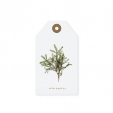 """GIFT TAG """"WINTER GREETINGS"""""""