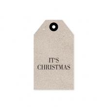 "GIFT TAG ""IT`S CHRISTMAS"""