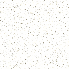 "WRAPPING PAPER ""SPRINKLED GOLD"""