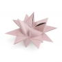 "3D CHRISTMAS STAR SET ""ROSE"""