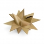 "3D CHRISTMAS STAR SET ""GOLD"""