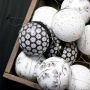 PAPER CHRISTMAS BALLS - sorted