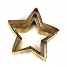 "COOKIE CUTTER SET ""STAR"""
