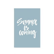 """POSTCARD """"SUMMER IS COMING"""""""