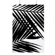"""POSTER """"PALM LEAVES"""""""