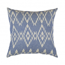 "CUSHION COVER ""BLUE"""