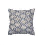 "CUSHION COVER ""DIAMOND BLUE"""