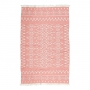 "BEACH TOWEL ""CORAL"""