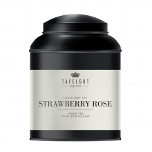 STRAWBERRY ROSE TEA