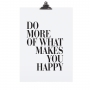 "POSTER ""DO MORE OF WHAT"""