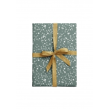 """WRAPPING PAPER """"DOTS"""" bluegrey"""