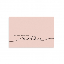 "POSTCARD ""MOTHER"""