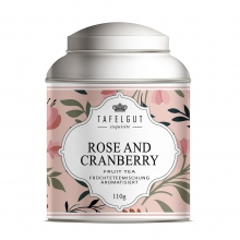 ROSE AND CRANBERRY TEA