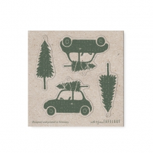 """GIFT TAG CARD """"BEATLE&TREE"""""""