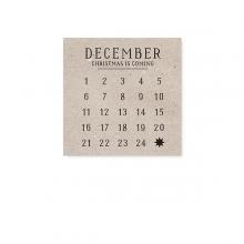 "MINI CARD ""DECEMBER"""